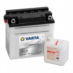 Varta Powersports Freshpack A514 508013 YB7-A