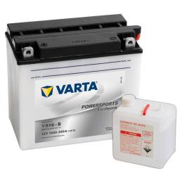 Varta Powersports Freshpack A514 519012 YB16-B