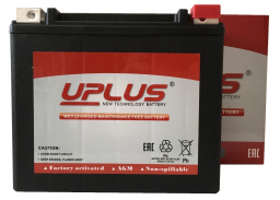 Uplus Powersport YTX20L-BS / YTX20HL-BS / YTX20HL / YIX20HL / YTX20L / GYZ20HL / GYZ20L / YB16HL-A-CX / YB16L-B / YB18L-A / MX20