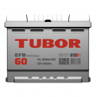 Tubor EFB 6СТ-60.0 VL (Start-Stop)