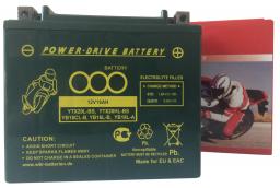 PD AGM 18 YTX20L-BS / YTX20HL-BS / YB16L-B / YB18L-A