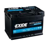 Exide Micro Hybrid AGM 70 (Start-Stop)