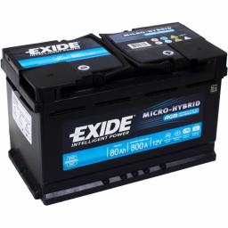 Exide Micro Hybrid AGM 80 (Start-Stop)