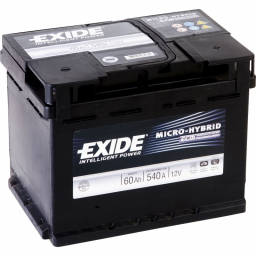 Exide Micro Hybrid ECM 60 (Start-Stop)